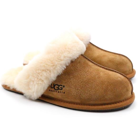 c18a5fa07c8 UGG Scuffette II Chestnut Sheepskin Scuff Slippers